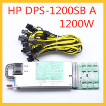 DPS-1200SB A HP 1200W 6pin Switching Power Supply Power Switch Graphics Card Power Board 64 Pin To 12 6 Pin To 8 Pin