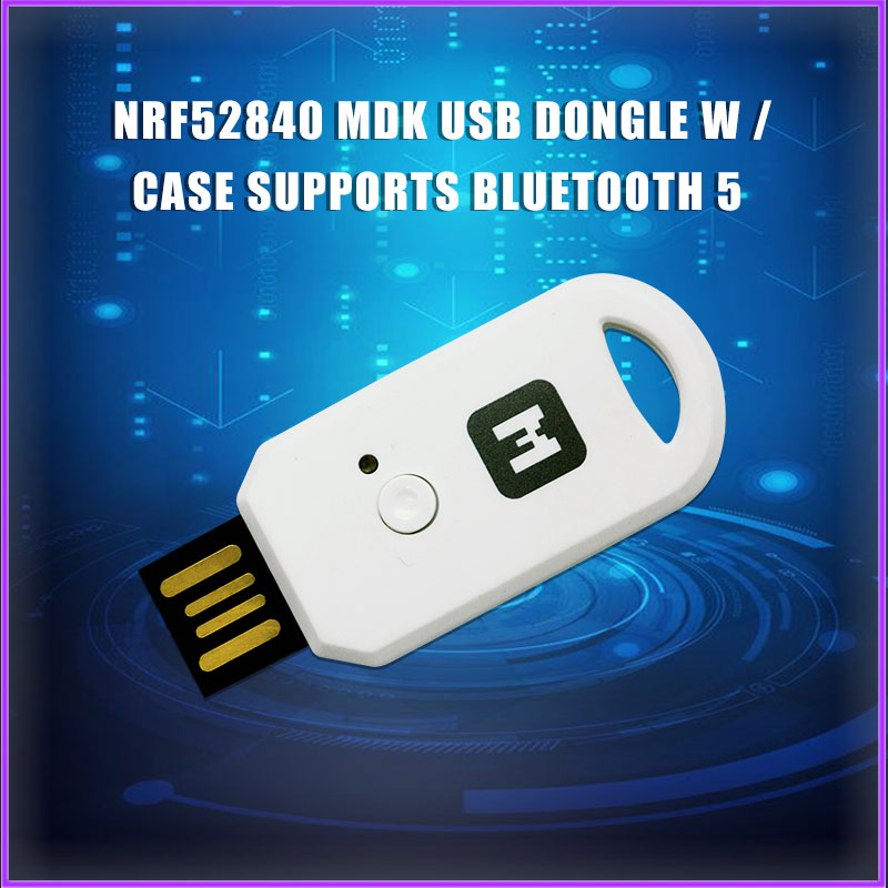 nRF52840 Micro Dev Kit USB Dongle with Case for Bluetooth 5/Thread/Zigbee