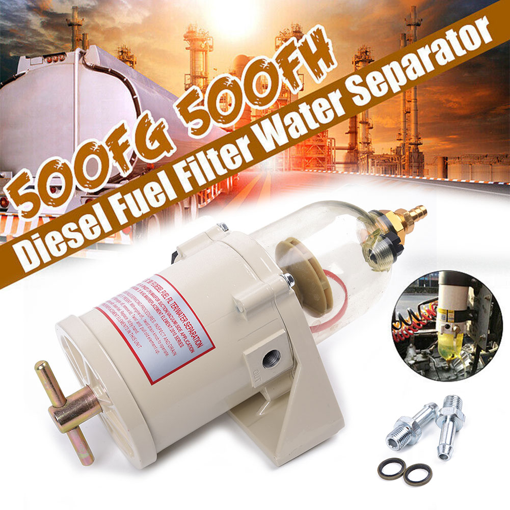 NEW 500FG//FH DIESEL MARINE BOAT FUEL FILTER WATER SEPARATOR