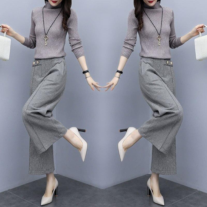 2019 Autumn Fashion Comfortable Elegant Set/Suit Skirt Long Sleeve Cool Elegant