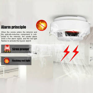 Sensor Alarm Smoke-Detector Fire-Equipment Independent Home-Security Wireless High-Quality