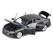 Model-Toy Wheel Shock-Absorber Die-Cast Steering-Sound Vehicle Gifts Car for Simulation-Front