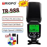 TRIOPO TR 988 TR 988 Flash Professional Speedlite TTL Camera Flash with High Speed Sync for Canon Nikon Digital SLR Camera