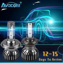Carro farol lâmpadas h4 h11 luzes led h7 12v 6000k h1 lâmpadas para carro motocicleta turbo led h4 estoque no brasil frete grátis