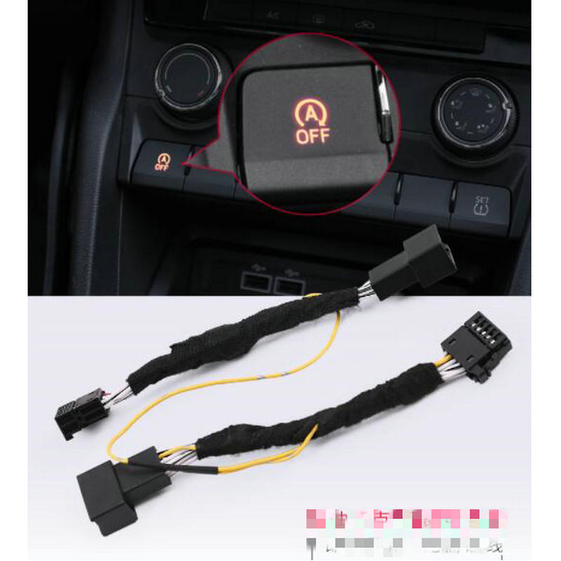 STYO Plug Play Engine Start Stop A OFF Auto Close Turn OFF Cable For KAROQ KODIAQ 17-20 Superb B8 16-20 Octavia 5E MK3 A7 15-20