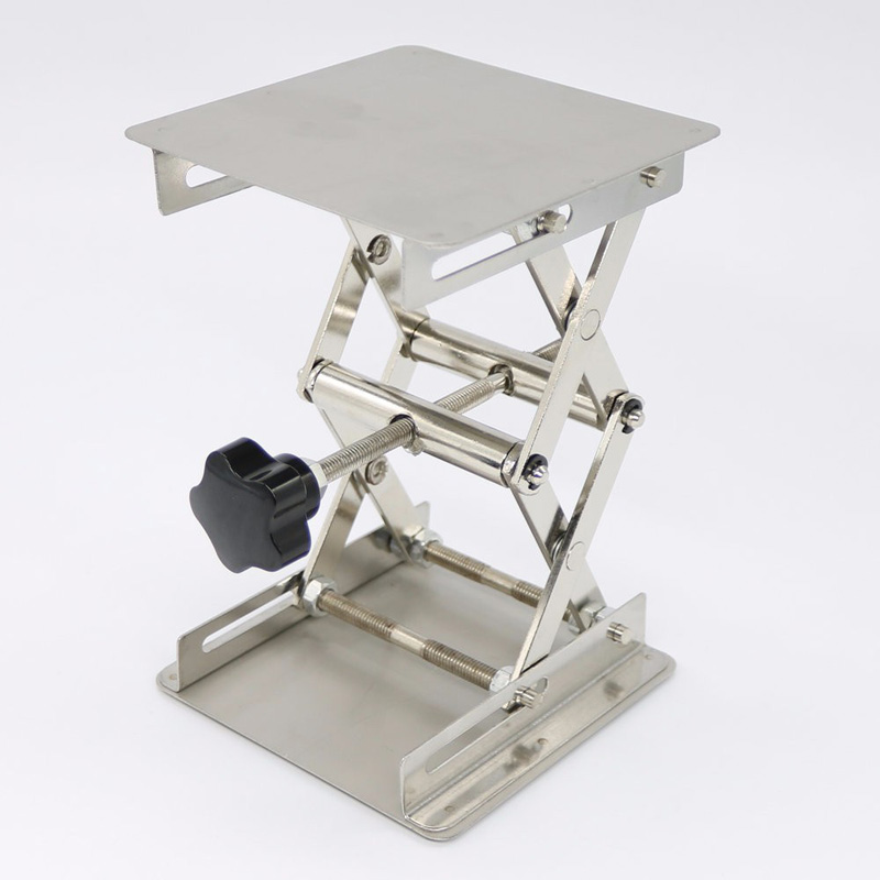 1*laboratory Lifting Platform Drill Lift Table Bench <font><b>Lifter</b></font> Lifting <font><b>Router</b></font> Shank Height Woodworking Lab Jack For Home Diy Tools image
