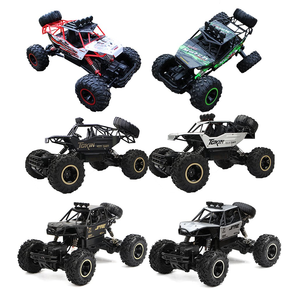 Remote Control Car High Speed Off-road Four-wheel Drive Big Foot Electric Climbing Car Boy Charging Children Toy Car