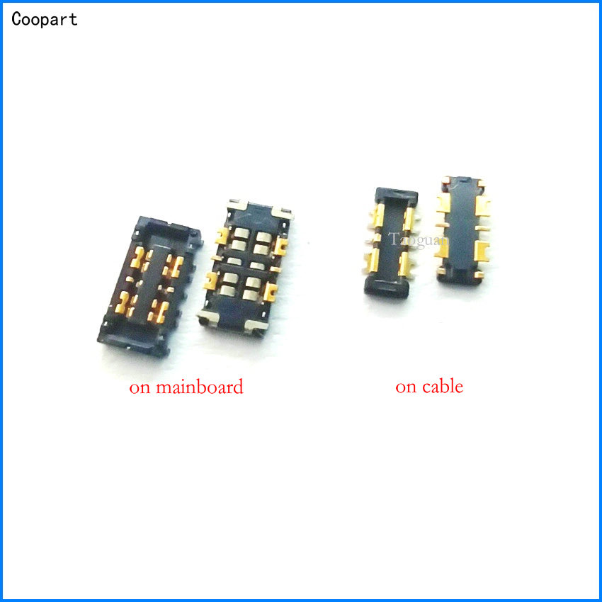 2pcs/lot Coopart New Inner Battery Connector Holder Clip Contact For ASUS ZenFone 2 ZE551ML / Zenfone 3 Max ZC520TL X008D