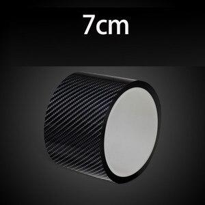 Защита бампера, защита края двери автомобиля, пленка из углеродного волокна, водонепроницаемая Противоударная полоса для автомобильной дв...