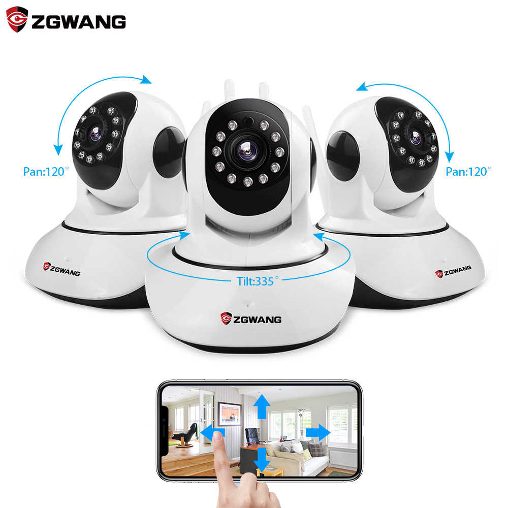 Zgwang X6 Draadloze Ip Camera 720P Netwerk Cctv Camera Wifi Wifi Video Bewakingscamera 'S Ir-Cut Night vision Audio