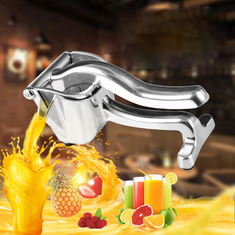 Manual Juicer Aluminum Alloy Fruit Juice Squeezer Pressure Lemon Sugar Cane Juice Kitchen Fruit Tool Portable Press Maker