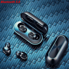 Touch sports wireless headphones Wireless Bluetooth 5.0 Headset For IOS Android Waterproof
