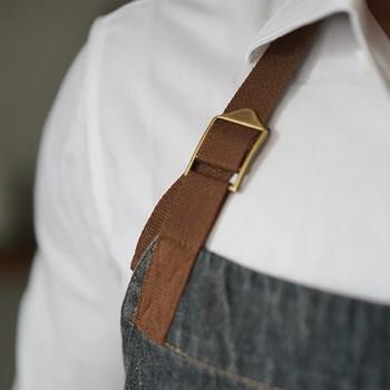 שחור ג 'ינס ביב סינר ריסטה קפה הברמן בייקר מאפה שף אחיד מסעדת ביסטרו מלון Coffeebar Waitstaff עבודה ללבוש K74