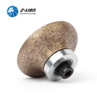 Z LION 1PC Diamond Profile Wheel F20*D79*M10 Thread Wet Use Marble Granite Stone Edging Router Bit Grinding Cutting Hand Tool