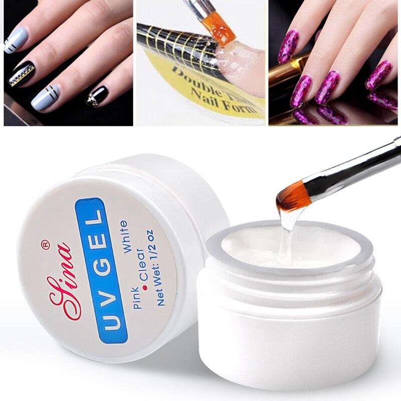Клей УФ для наращивания ногтей, практичный незаменимый УФ-гель для маникюра, фототерапия, инструменты для маникюра
