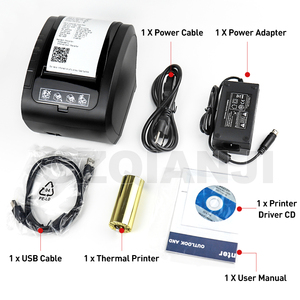 Image 5 - Imprimante thermique à tickets 80mm, GZ8002, coupe automatique, USB, série, Ethernet, wi fi et Bluetooth