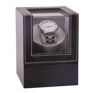 Wristwatch Motor Watch-Winder Rotation-Case Transparent-Cover Mechanical Luxury-Display