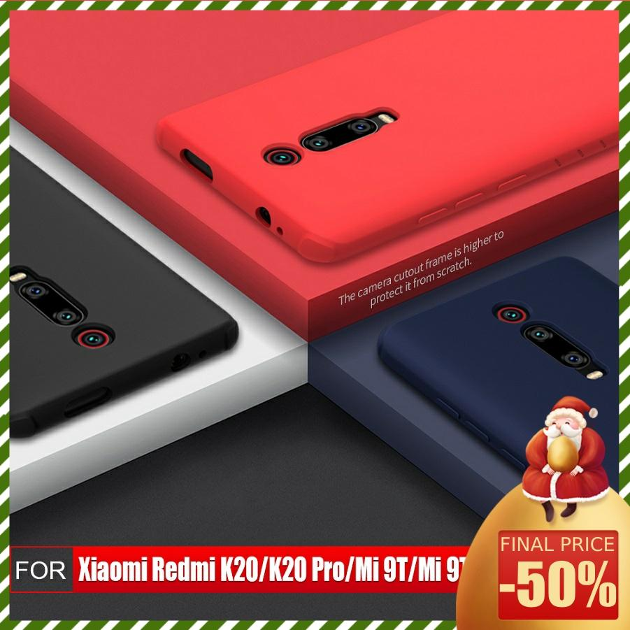 Redmi K30 case NILLKIN For xiaomi redmi k20 pro case cover Silicone Smooth Protective Back Cover Innrech Market.com