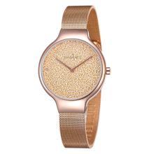Reloj de pulsera para mujer, de cuarzo, automático, de acero inoxidable, regalos para esposa