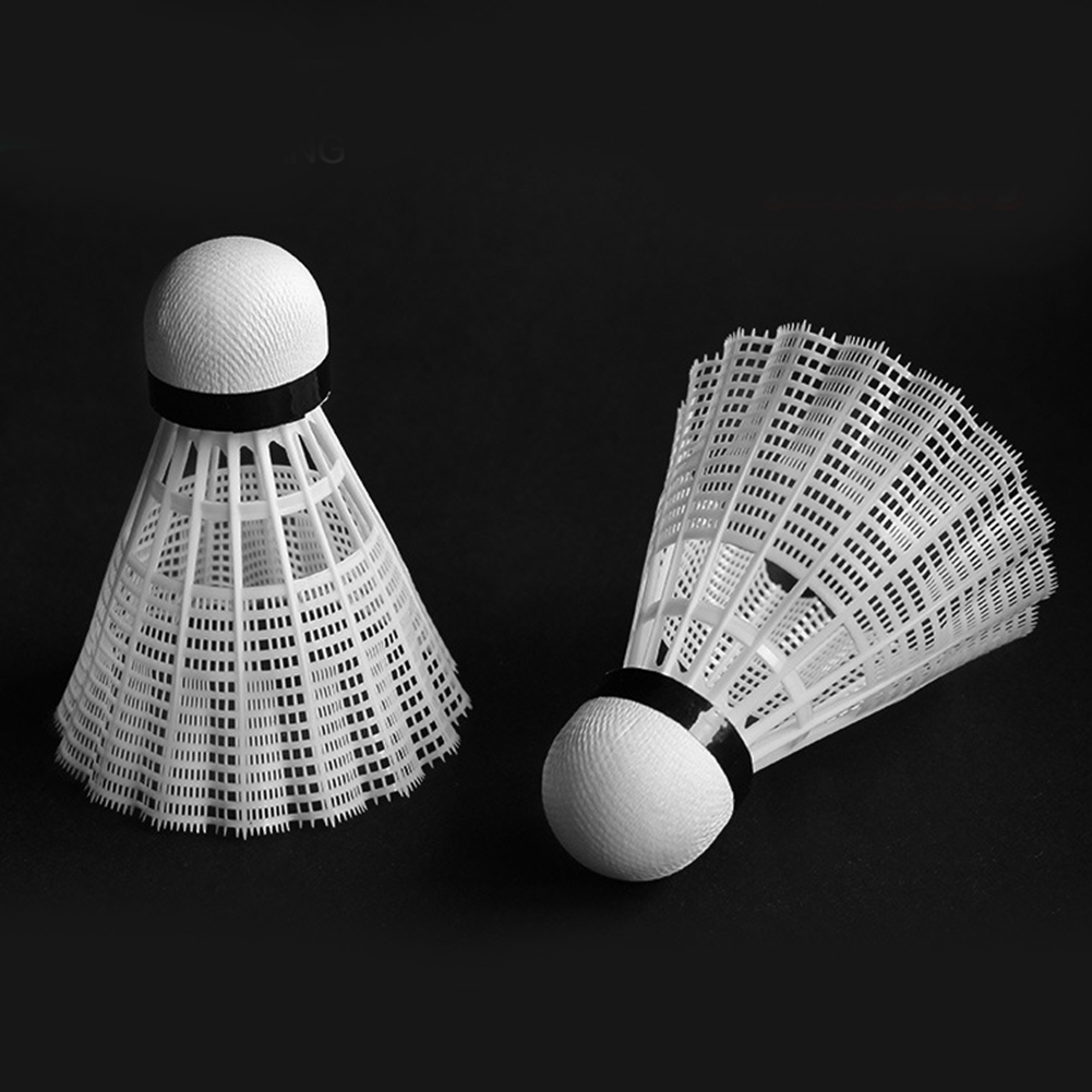 Indoor Outdoor Indoor Gym Sports Equipment Plastic Badminton Shuttlecocks White Multi-function Equipment For Exercise