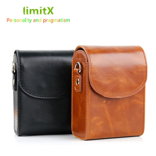 Retro Camera Leather Case Bag for SONY RX100 VII VI V VA IV III II HX90V HX90 HX80 HX99 HX95 HX60V HX50 HX30 HX20 HX10