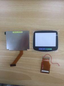 Image 2 - עבור Gameboy Advance LCD מסך עבור GBA SP AGS 101 להדגיש מסך LCD תאורה אחורית klit בהיר להגמיש כבל סרט + זכוכית כיסוי
