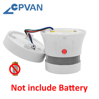 CPVAN 10PCS Smoke Detector Sensor Fire Alarm Home Security System Firefighters Tuya WiFi Smoke Alarm rookmelder Fire Protection