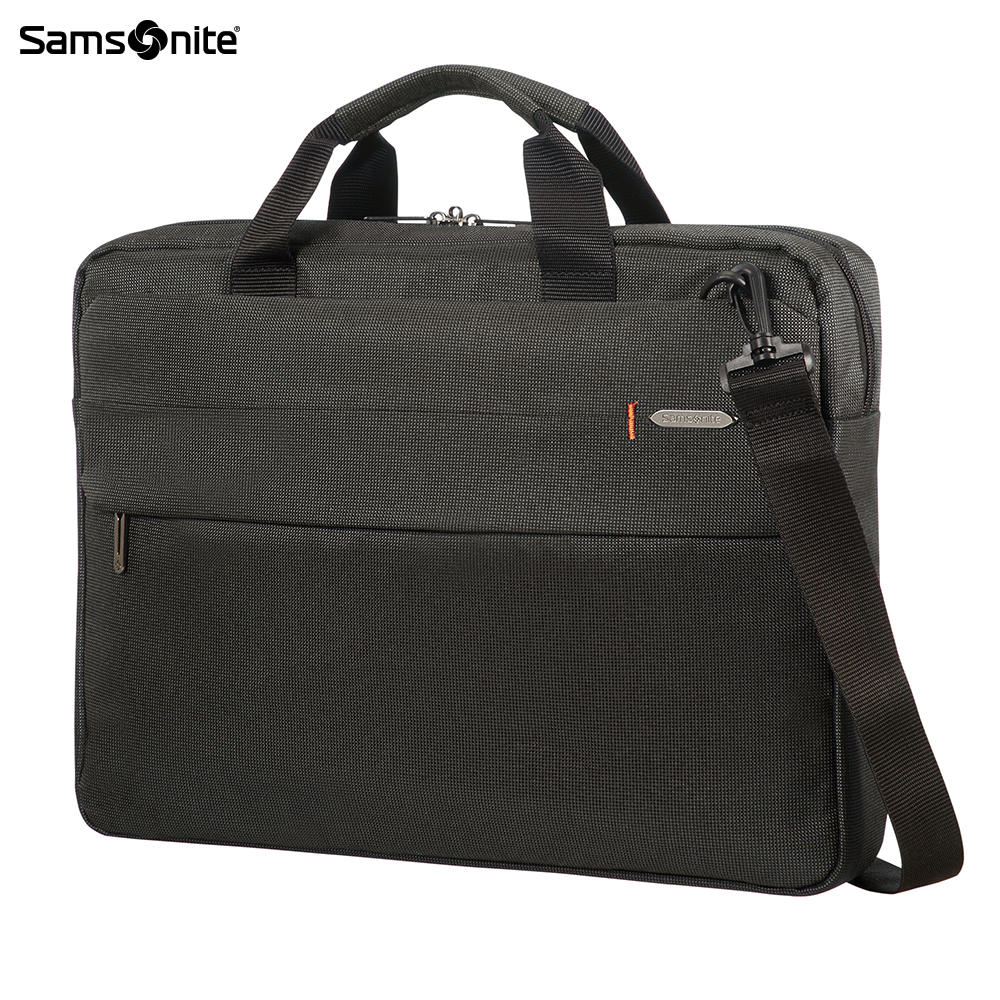 Фото - Laptop Bags & Cases Samsonite SAMCC800319 for laptop portfolio Accessories Computer Office a bag Men 2017 hot handbag women casual tote bag female large shoulder messenger bags high quality pu leather handbag with fur ball bolsa