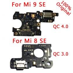 قطع غيار الهاتف الأصلي ل شياو mi mi 9 SE USB مجلس شحن ميناء الكابلات المرنة ل mi 8 SE شاحن مجلس موصل