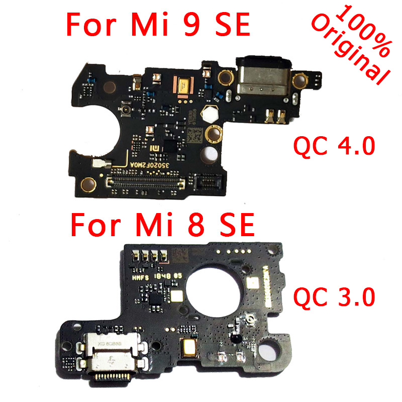 Original Phone Spare Parts For Xiaomi Mi 9 SE USB Board Charging Port Flex Cable For Mi 8 SE Charger Board Connector