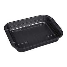 Carbon Steel Nonstick Bakeware Baking Tray Set with Cooling Rack Cookie Sheet Baking Pan Tray