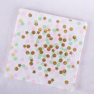 Image 5 - Garrafas descartáveis douradas para festas, 40 unidades, decoração para festa de aniversário do bebê, copo, estrela, festa de casamento, natal