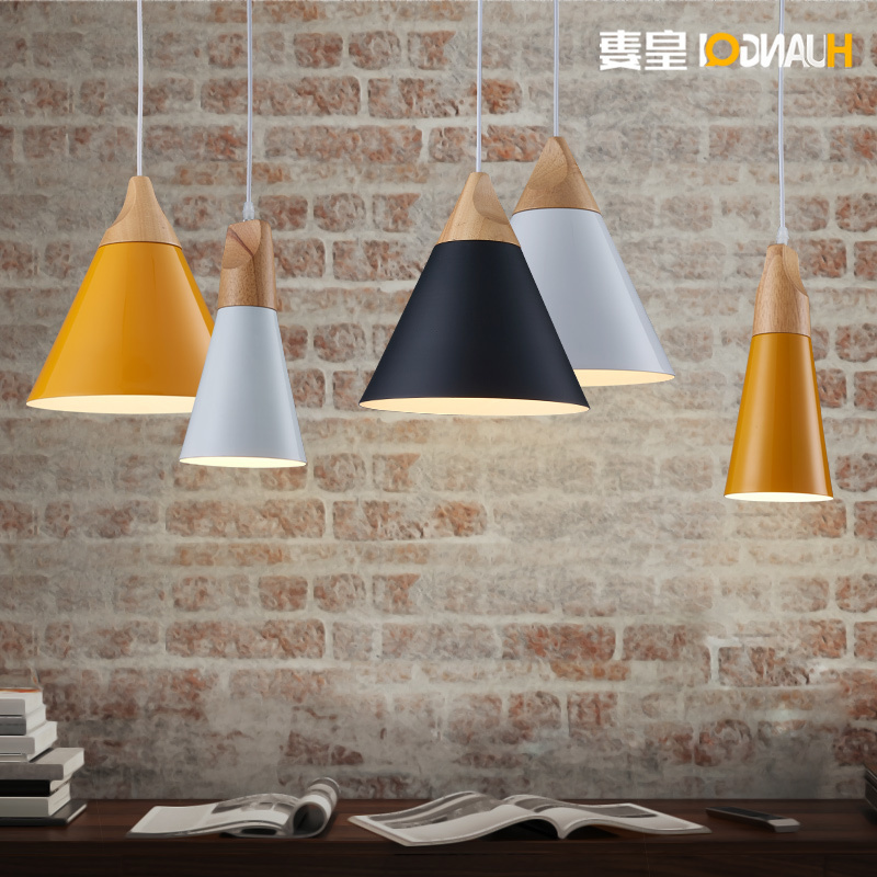 Nordic Bedside Table Bedroom Cafe Lamp Restaurant Lamp Personality Simple Single Head Lamp Deco Chambre