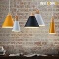 Nordic Nachttisch Schlafzimmer Cafe Lampe Restaurant Lampe Persönlichkeit Einfache Einzigen Kopf Lampe deco chambre-in Pendelleuchten aus Licht & Beleuchtung bei