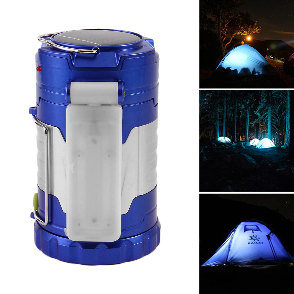 220V Camping Light Outdoor Rechargeable LED Flashlight Usb Solar Portable Camping Lantern Emergency