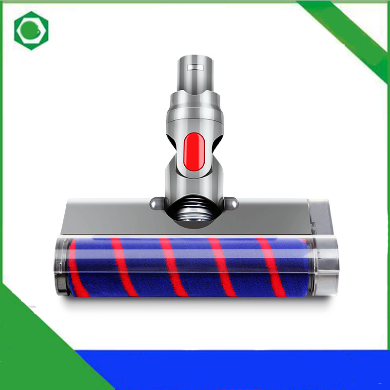Nozzle for Dyson V6 DC58 DC59 DC62 DC74 Vacuum Cleaner Accessories Carpet Soft Velvet Roller Direct Drive Floor Nozzle