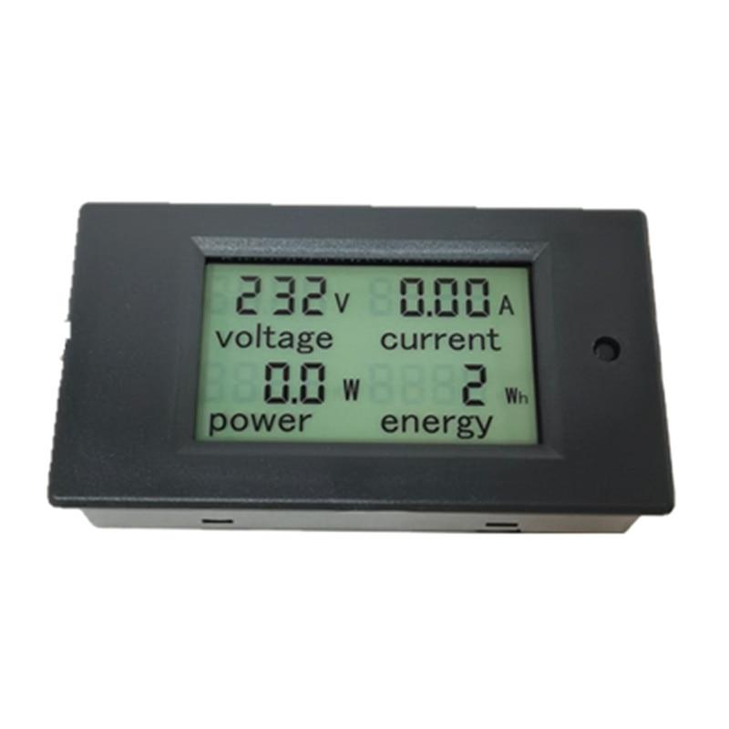 Peacefair ühefaasiline digitaalne voltmõõtur, voolumõõtur AC - Mõõtevahendid - Foto 3