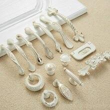 Puxadores de gaveta puxadores de armário de cozinha 96mm/128mm botões de porta bege e puxadores de gaveta botão de gaveta de móveis de metal