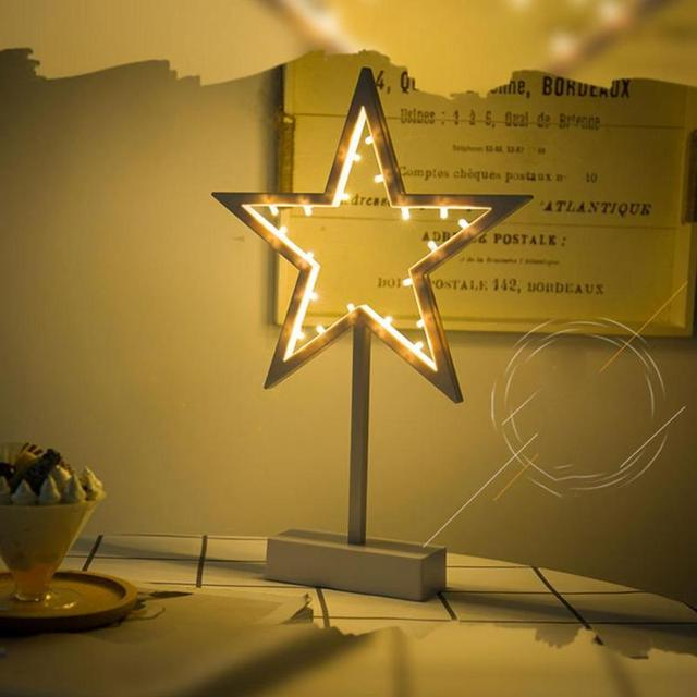 Star Shape LED Night Lamp Kids Lighting Table Lamp
