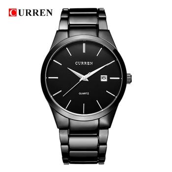 CURREN Men's Luxury Display Date Waterproof Quartz Watches 1