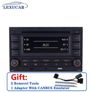 Image 2 - LEXUCAR Bluetooth RCN210 Car Radio  CD Player USB MP3 AUX RCN 210  9N 31G 035 185 For VW Golf Jetta MK4 Passat B5 Polo 9N