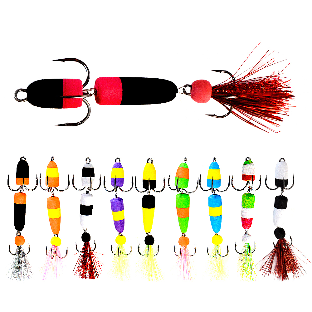 FISH KING Mandula Hot Sale Fishing Lure Soft Lures Foam Bait Swimbait Wobbler Bass Pike Lure Insect Artificial Baits Pesca