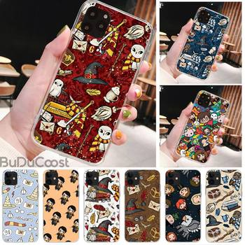 Cartoon Movie Harries Potters Phone Case for iPhone 8 7 6 6S Plus X 5S SE 2020 XR 11 pro XS MAX 12 12Mini image