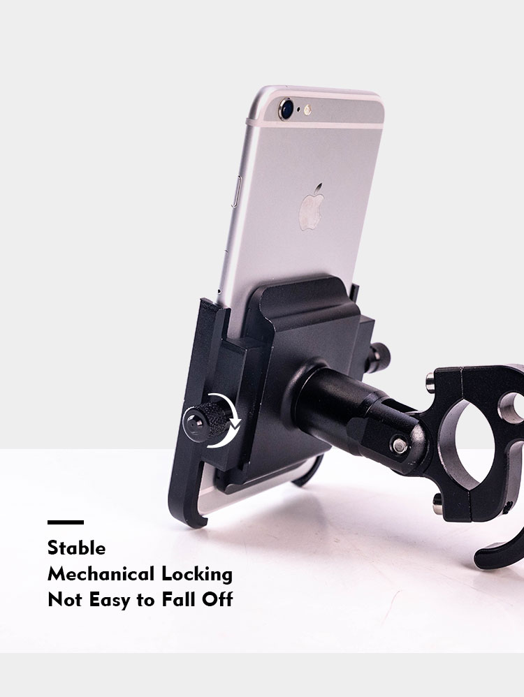 Motorcycle Mobile Phone Holder Suitable for Bicycles/Motorcycles/Electric Vehicles/Scooters 13