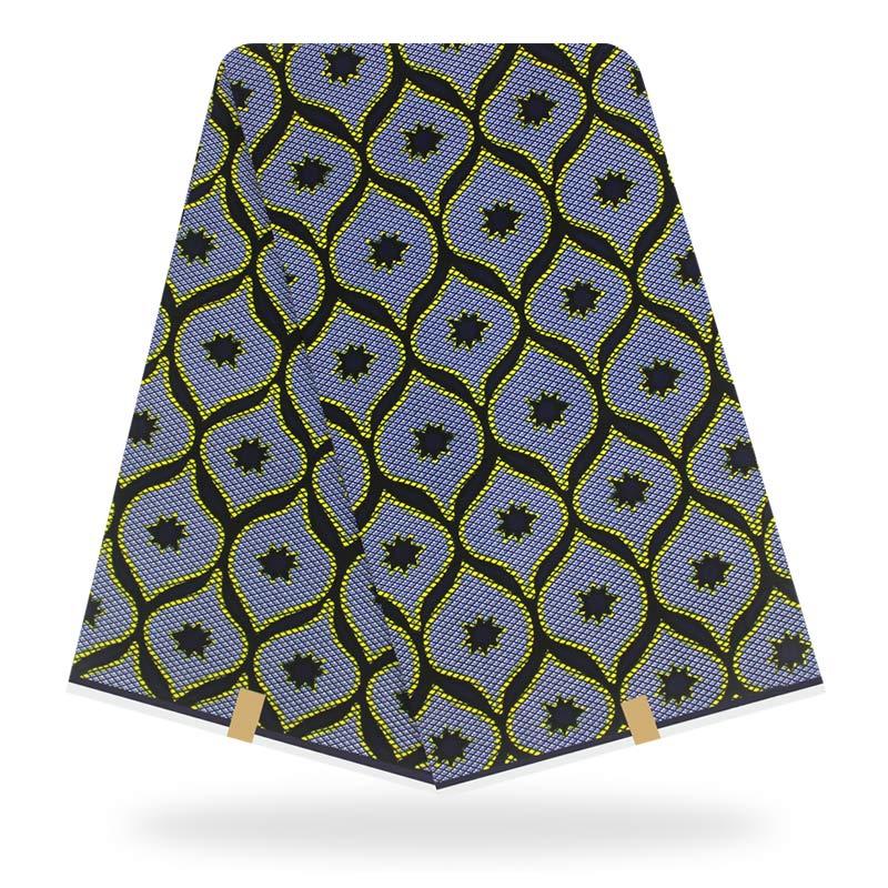 Nigeria Dutch Wax High Quality Ankara Dutch Wax Fabric Wholesale And Retail African Wax Print Fabric 6 Yards/pcs