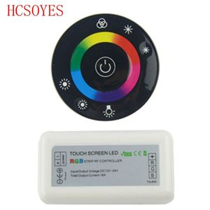 Image 5 - 18A 7 Keys RF Remote controller LED Touch Round RGB Controller DC12V DC24V