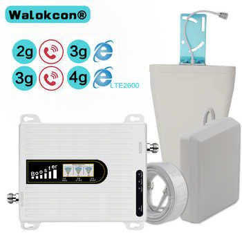 2G 3G 4G GSM 900 WCDMA FDD LTE 2600 Cell Phone Signal Booster GSM 3G 4G LTE 2600 Repeater 900 2100 2600 Cell Phone 2600 Booster - DISCOUNT ITEM  28% OFF All Category
