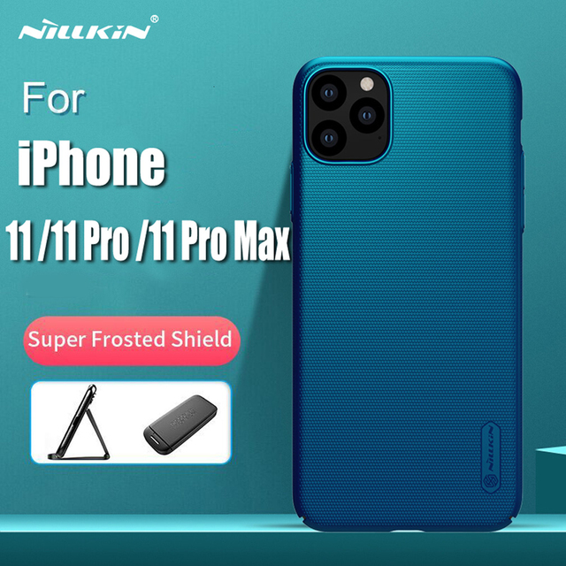 For iPhone 11 Pro Max Case Cover NILLKIN Fitted Cases For iPhone 11 Pro High Quality Super Frosted Shield For iPhone 11 5.8 inch