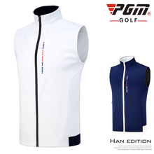 Vest Golf-Clothing Golf-Apparel Waterproof Winter PGM Warm Sleeveless Autumn Men Waistcoat