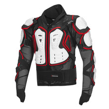 Motorcycle moto reflective armor jacket full body armour protective gear vest racing Clothing turtle jackets(China)